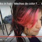 Como Hacer Mechas de color Fucsia Fantasia