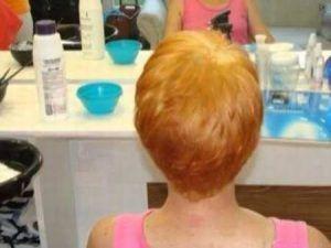 Decapage en pelo corto