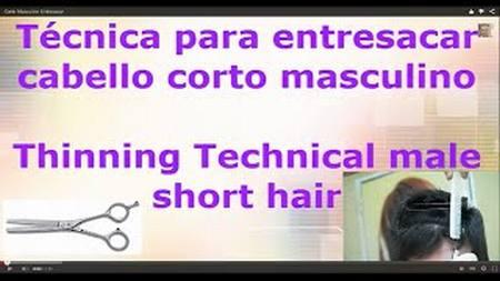 Corte Masculino Entresacar - Thinning Technical Male Short Hair