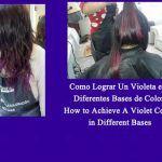 Como Lograr Un Violeta en Diferentes Base de Color