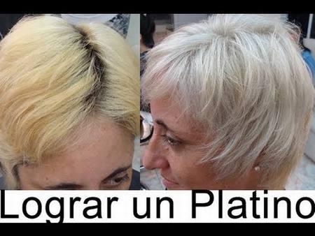 Super Blond Hair Discoloration Height 10 - Decoloracion del Cabello Super Rubio Altura 10