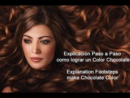 Como Lograr un Chocolate en Cabello Paso a Paso