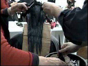 Tecnica de Alisado Quimico Hombre