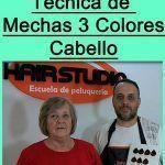Trabajo de Color de Cabello y Mechas 3 Tonos