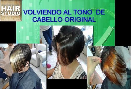 Volver Al Tono De Cabello Original