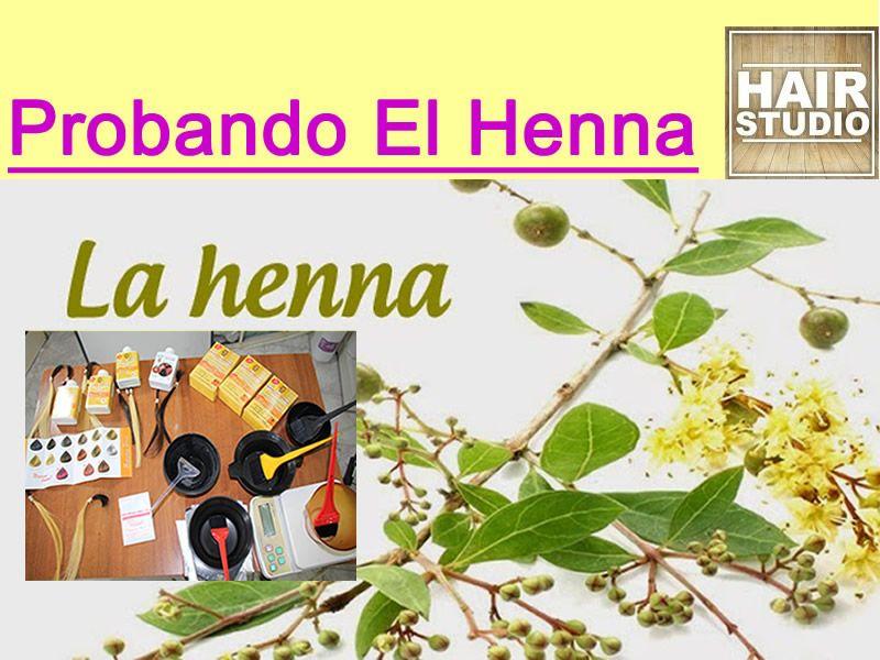 Henna Cabello Tintes
