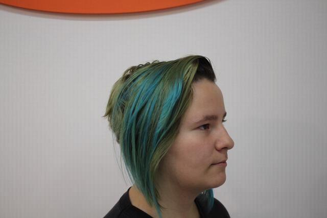 Cabello Color Azul
