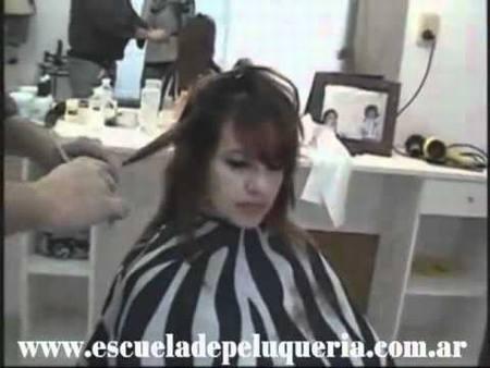 Corte en Capas Cabello Seco Mujer