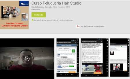 Descargate la App de Escuela Hair Studio