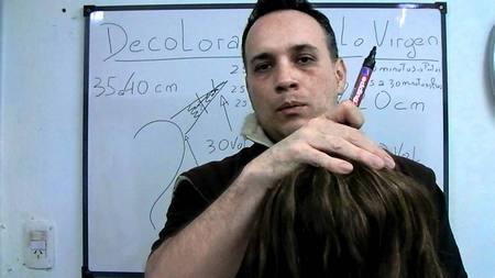 Decoloracion en cabello Virgen