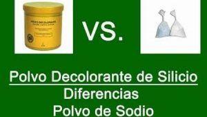 Polvo Decolorante de Silicio Diferencias Polvo de Sodio