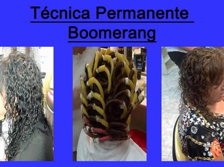 permanente cabello boomerang