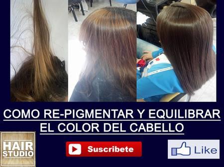 Solucionar problemas de manchas de color curso de peluqueria for Como sacar el color aguamarina