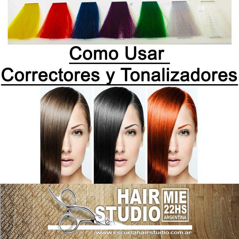 Tecnica Para Usar Correctores y Tonalizadores Del Cabello - Curso de ... a61a7486fb2e