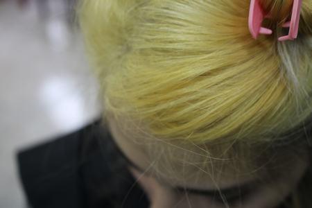 Decoloracion del Cabello Amarilla