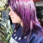 Lograr Violeta Cabello Negro Con Tintura