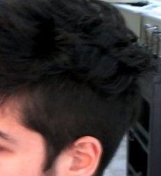 cabello fondo negro 2