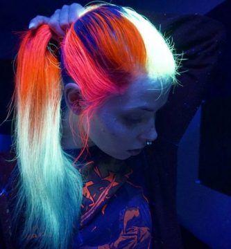 Colores Fluos Cabello