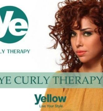 Curly Therapy Yellow