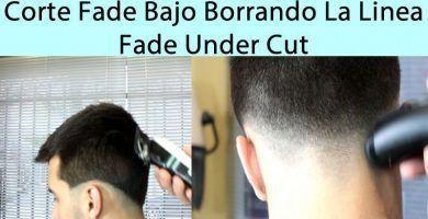 Fade Under Cut Hombre