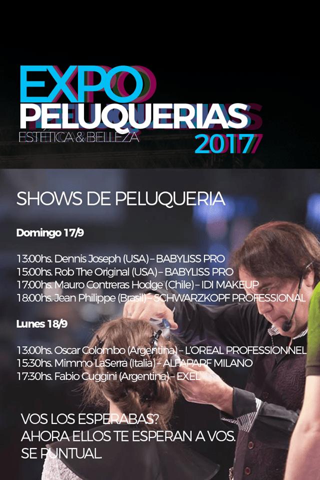 Expo Peluqueria 2017 Oscar Colombo