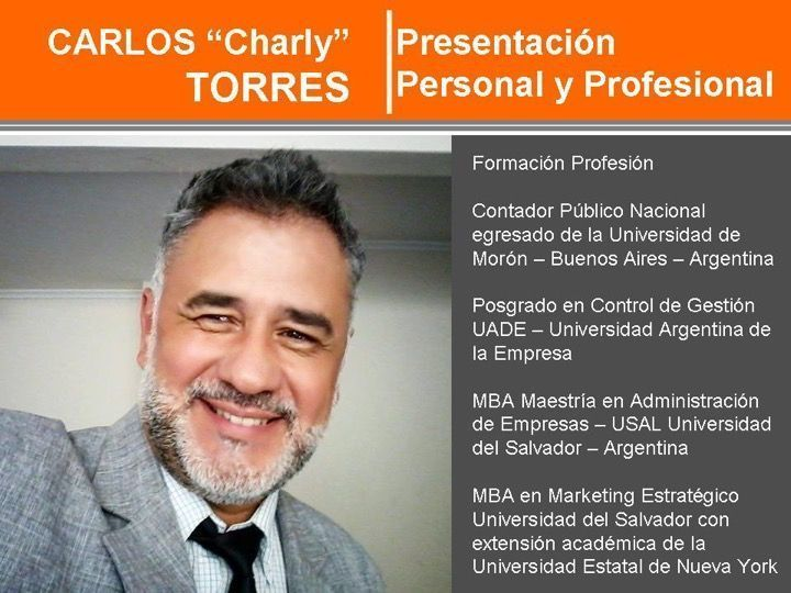 "Carlos ""Charly"" Torres Estilista"