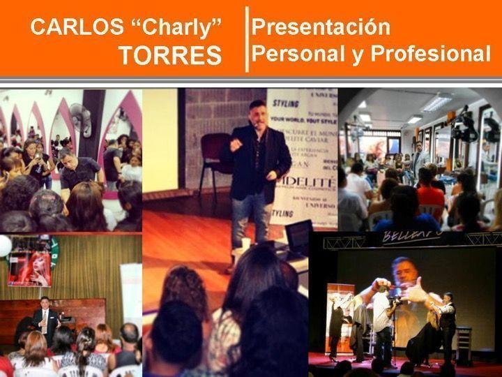 Formador Estilista Charly Torres