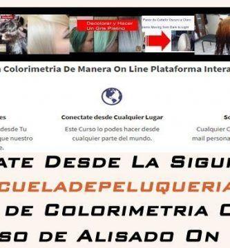 Cursos On Line Escuela de Peluqueria