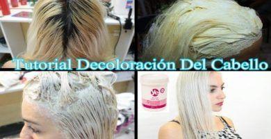 Decolracion del cabello paso a paso 2018