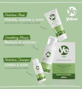 keratin protex yellow alfa parf