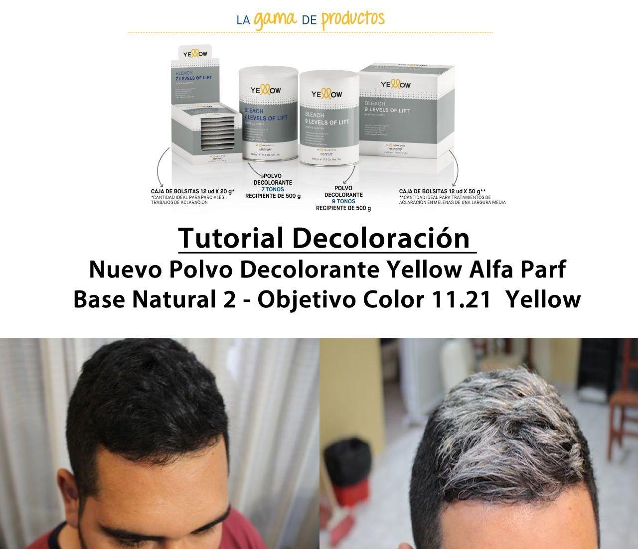 decoloracion yellow alfa parf 11.21