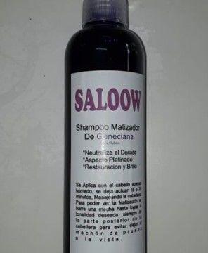 shampoo matizante saloon inn
