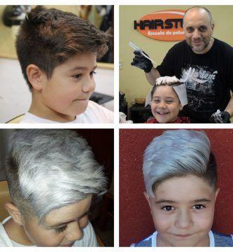 Logrando un color de cabello platinado