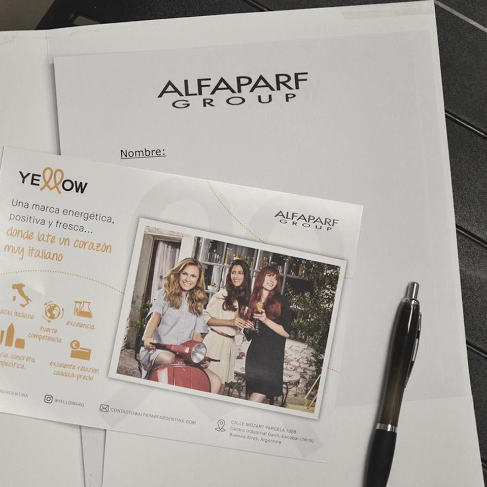 Seminario Yellow Alfa Parf
